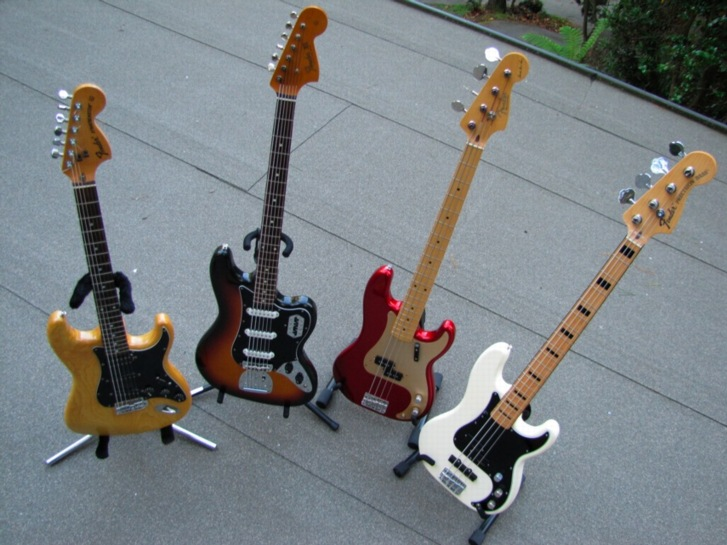 fender japan collection