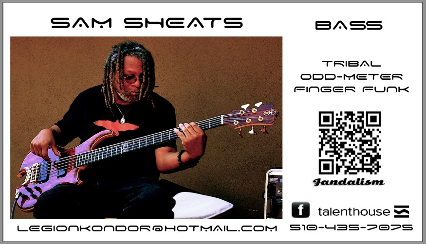 Sam NAMM biz card