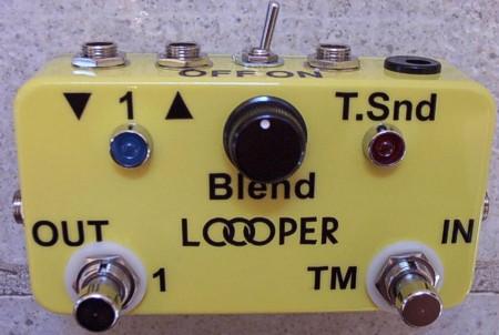 custom looper pedal
