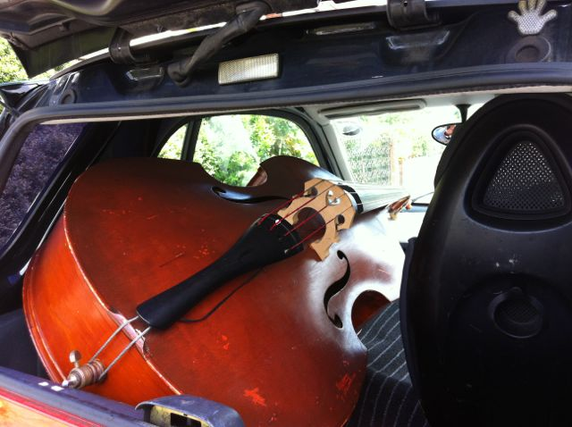 Car And Driver 10 Best >> Alembic Club: Double bass in a smart car
