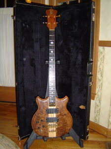 96 short scale custom&#44; flamed walnut
