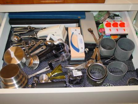 Drawer of gadgets