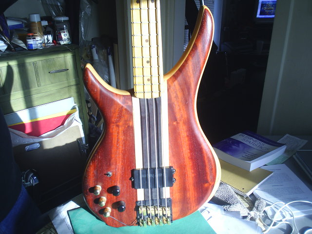 Mike's modded p-bass