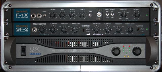 Alembic Club Favorite Rack Mount Preamp