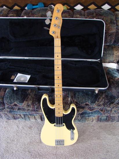 71' tele bass