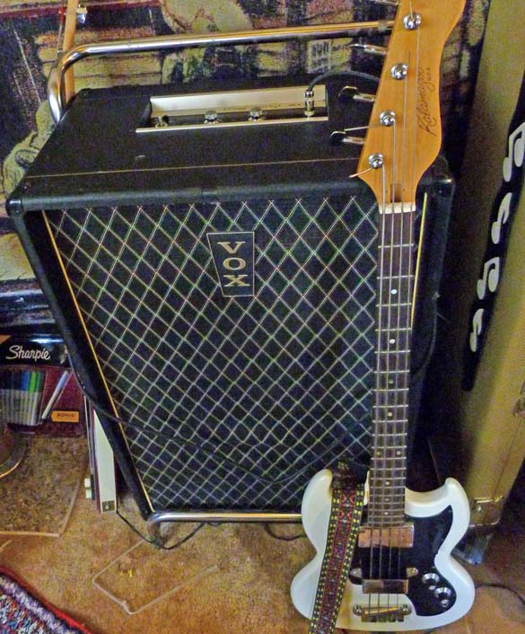 Vox essex amp and the 63 kalamazoo that came with it