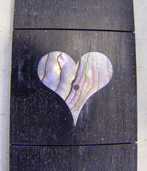 heart inlay