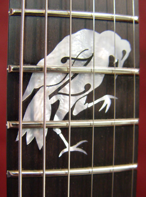 tom&#39;s crow inlay