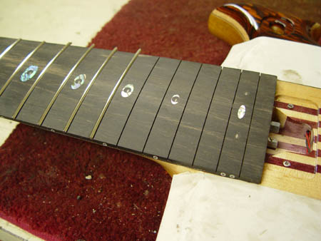 getting fretted