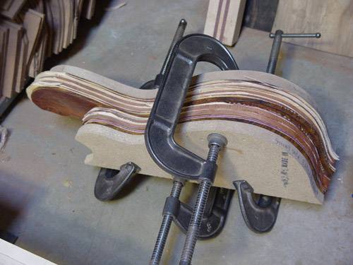 in clamps