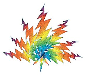 Lightning bolt Leaf