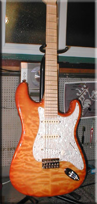 Warmoth Custom Strat-style Guitar