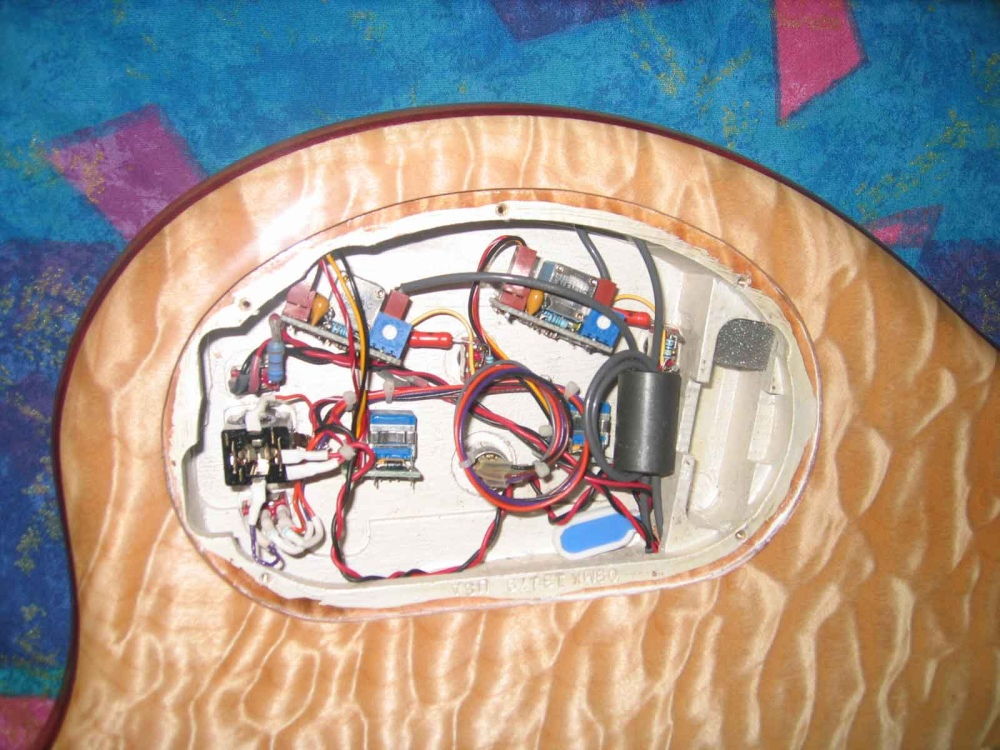 electronics cavity