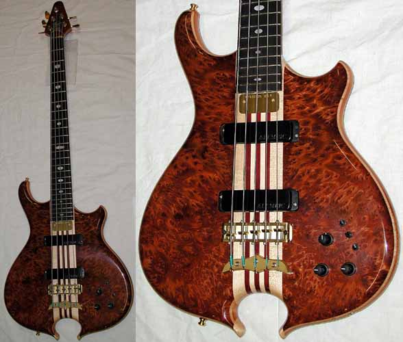 Burl Redwood Bass