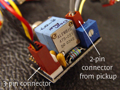 filter module connectors