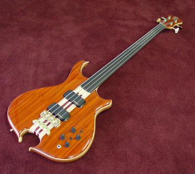Mark&#39;s new fretless