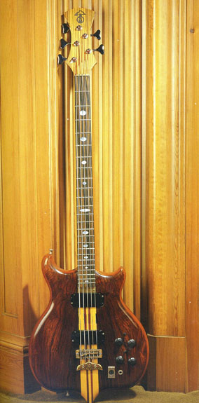 Entwistle's 5 string full scale version of my dream bass