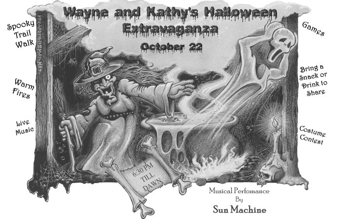 Wayne and Kathy's Halloween Extravaganza