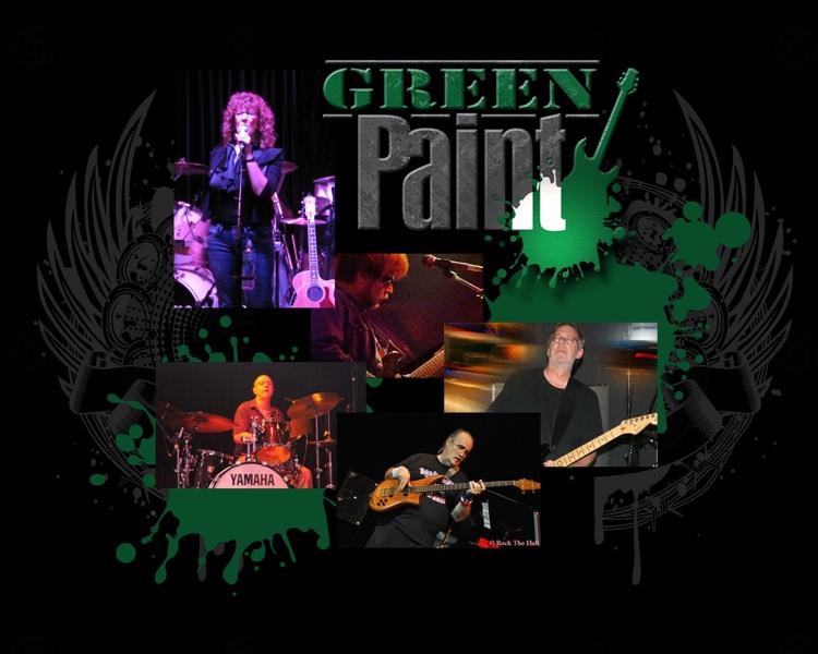 Green Paint 1