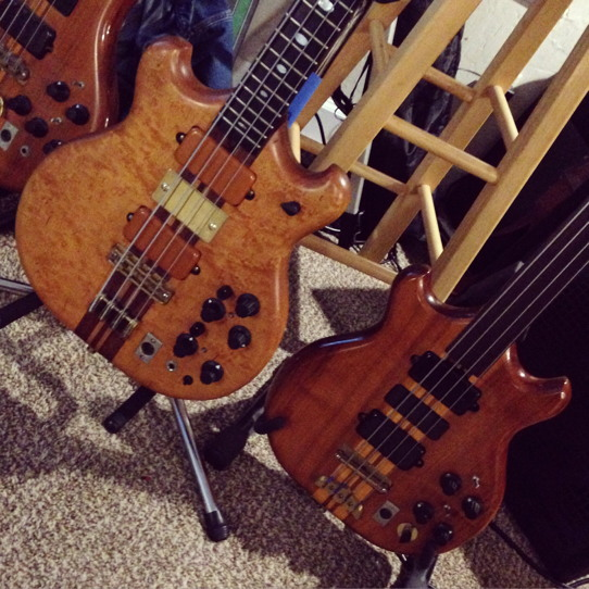 two 70s basses