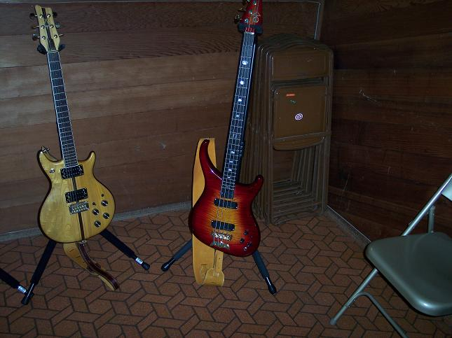 Eric's Orion & Bill's Guitars