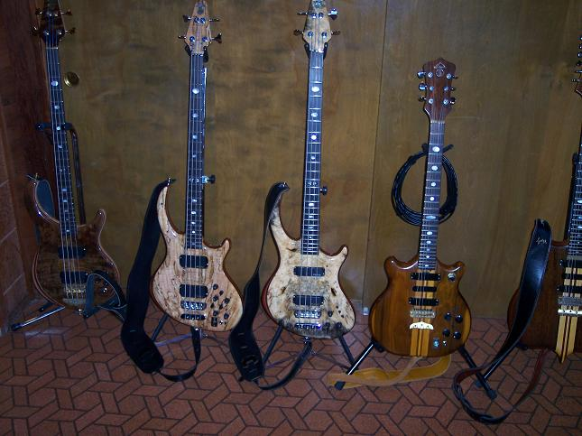 A Series Guitar with Ken's Basses