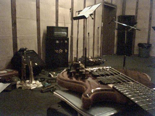 rehearsal still-life ;)